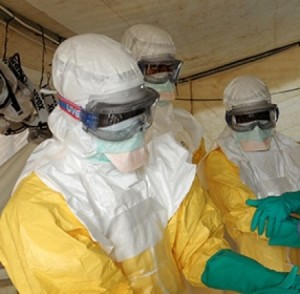 health-care workers in 2014 ebola virus outbreal